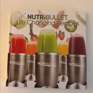 Like New NutriBullet life Changing Recipes Book